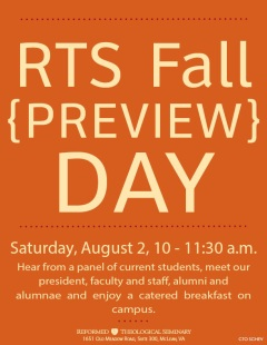 RTS Fall Preview Day